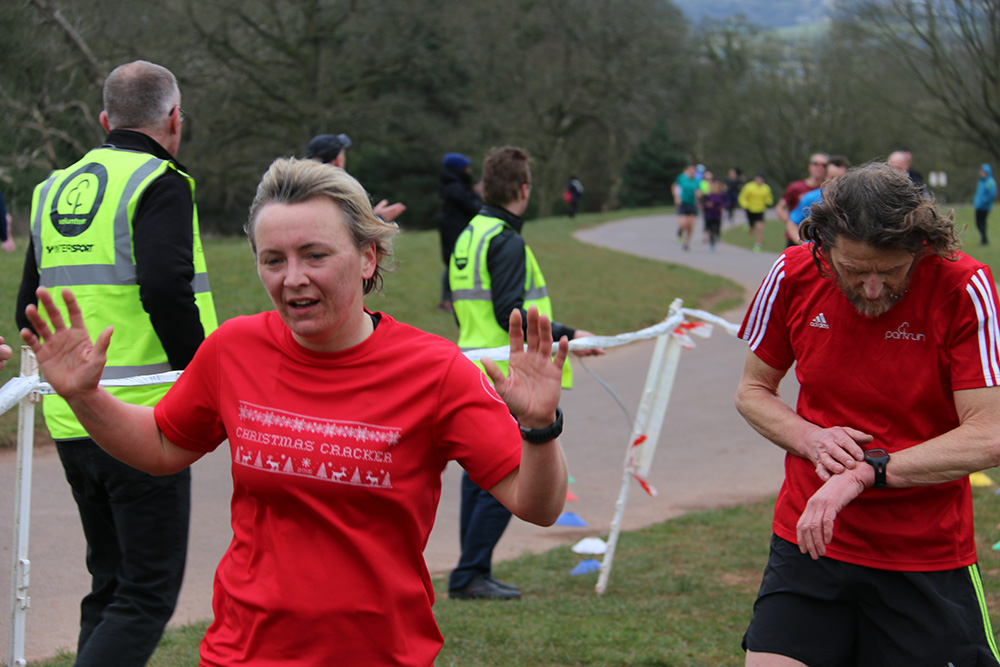 Parkrun in Ashton Court, Bristol