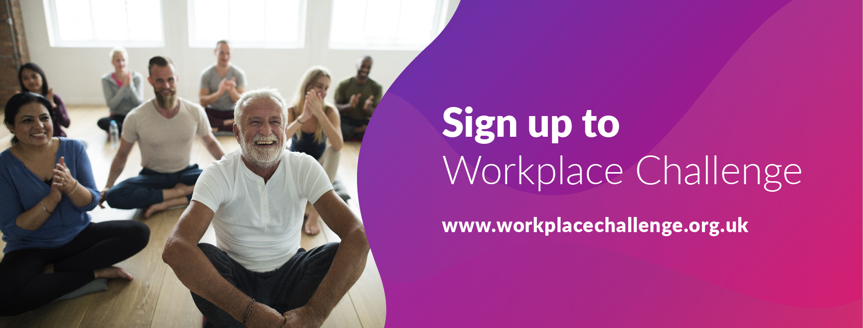 Workplace Challenge - Sign up banner