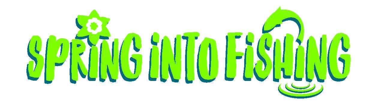 Spring into Fishing Logo