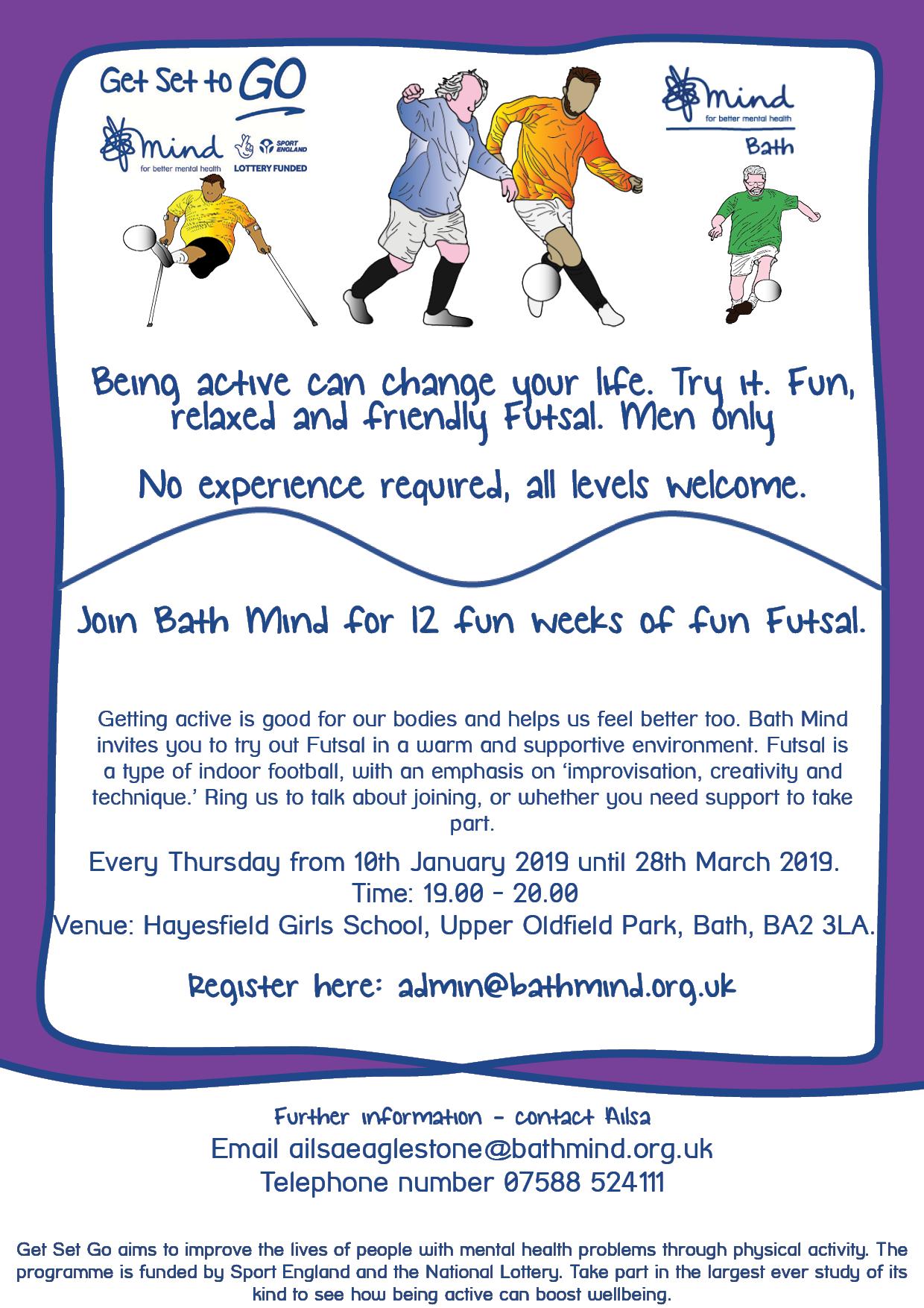 Get Set to Go Bath mind activities - Wesport